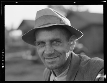 Lange, Dorothea, photographer. One of three directors of Mineral King Farm Association elected by the ten families now reestablished on the land by the Farm Security Administration. Tulare County, California. California Tulare County United States, 1938. Nov. Photograph. Retrieved from the Library of Congress, https://lccn.loc.gov/2017771051. (Accessed November 06, 2017.)