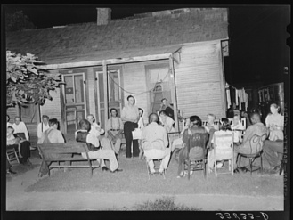 Russell Lee, photographer. Workers' Alliance meeting. Muskogee, Oklahoma. Muskogee Muskogee County Oklahoma, 1939. July. Photograph. Retrieved from the Library of Congress, https://www.loc.gov/item/fsa2000015061/PP/. (Accessed November 02, 2017.)