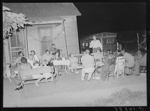 Russell Lee, photographer. Negroes and whites at Workers' Alliance meeting listening to Stanley Clark, old-time socialist leader in Oklahoma. Muskogee, Oklahoma. Muskogee Muskogee County Oklahoma, 1939. July. Photograph. Retrieved from the Library of Congress, https://www.loc.gov/item/fsa2000015069/PP/. (Accessed November 02, 2017.)
