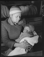 Russell Lee, photographer. Negro mother and child at local chapter meeting of UCAPAWA United Cannery, Agricultural, Packing, and Allied Workers of America. Bristow, Oklahoma. Bristow Creek County Oklahoma, 1940. Feb. Photograph. Retrieved from the Library of Congress, https://www.loc.gov/item/fsa2000016419/PP/. (Accessed November 02, 2017.)